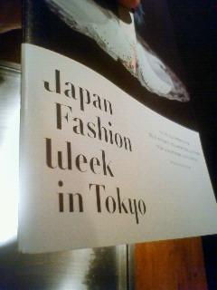 東京コレクション・バックステージに参加
