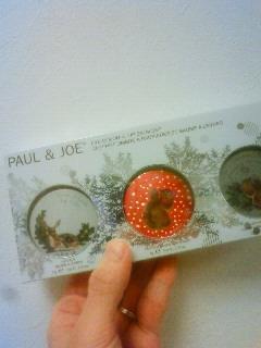 ポール&ジョー アイカラー&リップバームセット 001
